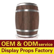 Madeira sólida personalizado balde barris de cerveja barril de vinho barris de vinho de madeira