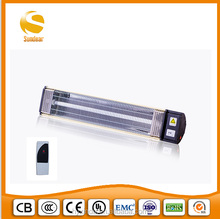 SUNDEAR 2015 infrared quartz heater waterproof and heating instantly certificated Ip24