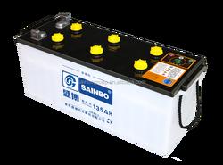 12V 135Ah Rechargeable Car Batteries King Power Lead Acid Car Battery