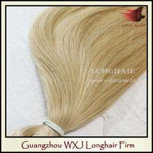 Factory Price Orange Blonde Cheap Hair Weft