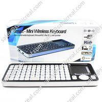 Mini 4 IN 1 2.4GHz Wireless QWERTY Keyboard For Computer