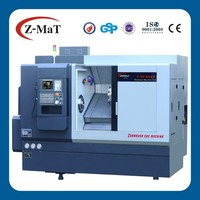 "Automatic CNC slant bed turning lathe with Hydraulic chuck 10"""