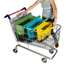 Custom 2016 New Design Foladble Trolley Bag Shopping