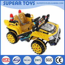 New style and special appearance kids ride on remote control power car 2 seater