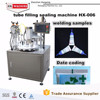 Plastic Tube Filling Sealing Machinery Toothpaste Packaging Machine