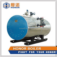 Electric Fuel Steam Boiler 300kg capacity double electric boiler machine for sale