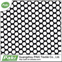 Cheap Polyester Mesh Fabric With Big Round Hole