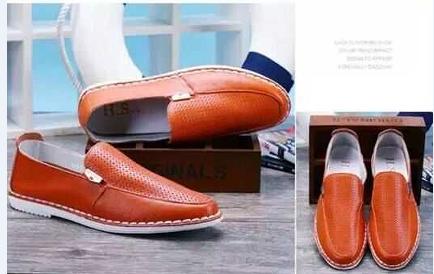 free sample wholesale men leather casual shoes dubai shoes