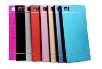 Thin Aluminum Metal brushed hard phone case For Lenovo K7000