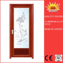 Customized Aluminum glass door scrapbook storage cabinets SC-AAD028