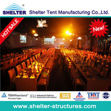 Luxury party tent,wedding tent with lightness led marquee decoration hot sale