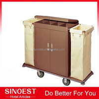 Customized Multi-function iron trolley Hotel cleaning trolley cart