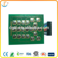 PCB membrane keyboard switch, Professional original design manufacturer over 10 years