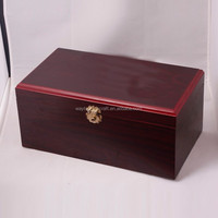 High end promotional gift wooden cosmetic storage box