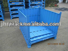 Stackable steel storage container