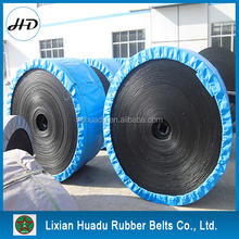 without fold ep canvas conveyor belts with rubber cover