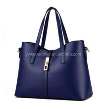 Hot sale new design ladies bag big simple style handbag