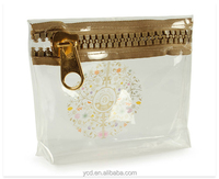 Summer Guangdong Ali Baba Shopping PVC Clear Zipper Waterproof Bag