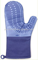 Hot sale high quality silicone high temperature oven mitt