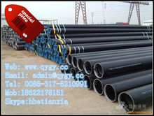 Corrosion Resistance Rubber Lined Pipe to heat vulcanization API 5LX52 steel pipe/oil and gas line pipe carbon steel seamless