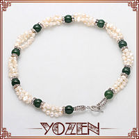 2014 latest design necklace strand hyderabad pearl