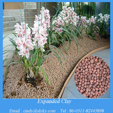 4-20mm expanded clay ceramic ball for garden decoration