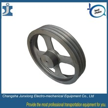 Stainless steel pulley single wheel timing pulley, large flat pulley for motor