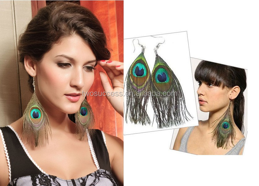 peacock feather earrings (6)