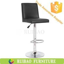 2015 Cheap Price Black Leather Bar Chair/Bar Stool