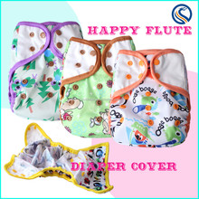 2015 Happy Flute Disposable Sleepy Baby Cloth Diaper Cover