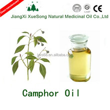 Natural yellow camphor oil for Insect , repellent and deodorization is in hot sale
