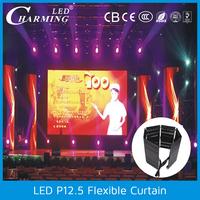 2015 innovative product electronics led light black curtain