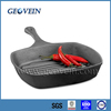 Square cast iron steak frypan