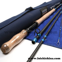 12.6ft 7wt 30T+36T SK carbon fishing spey fly rod