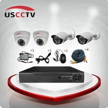 4Channels Cheap CCTV Security Camera Kit
