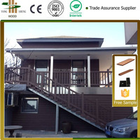 wood plastic outdoor house/wpc house China manufacturers&suppliers&exporters