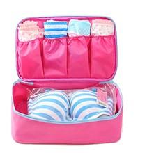 Portable Travel Drawer Dividers Closet Organizers Bra Underwear Storage Bag