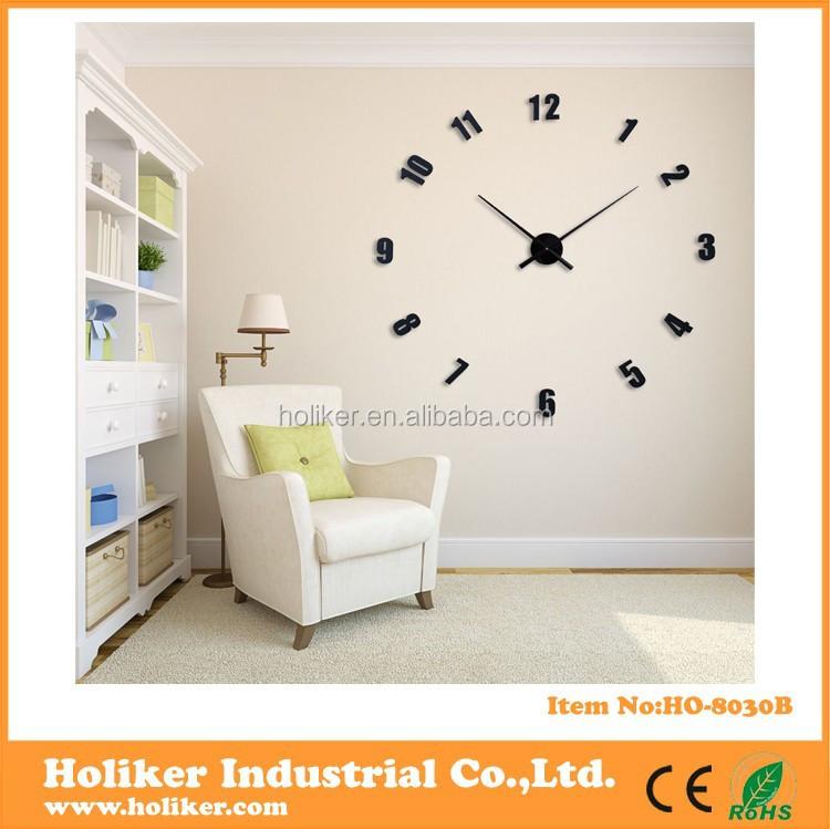 Gambar Jam Dinding Besar Dekoratif Besar Jam Dinding 3d