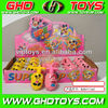 cartoon mouse figure spinning peg top toys