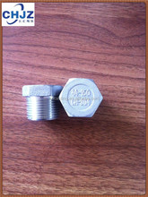 BSPT /NPT Stainless Steel Hex Head Plug Direct FACTORY