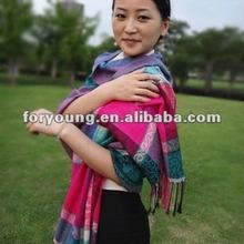 lady winter pashmina fashion scarf 2012