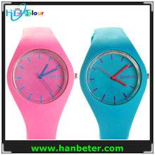 2015 new fashion hot sale fashion jelly teenage silicone watch