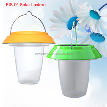 Multi-functional Silicone Solar Led Light Lantern With Rechargeable 500mAh Polymer Lithium Battery