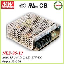 Mean Well 12vdc power supply NES-35-12