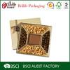 Personalized Cheap custom chocolate praline box design