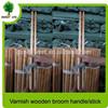 120*2.3cm Varnished Wood Pole For Broom Stick