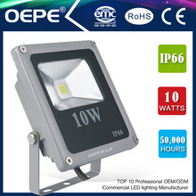 hot sale 10w led flood light Brigelux chip 10w ip65 led flood light 90-264V/12V/Motion Sensor/Dimmable/RGB CE/RoHS/UL