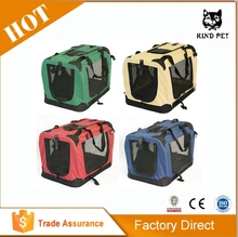 different color high quality transportation box/ pet carrier