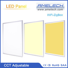 600x600 36W WiFi-ZigBee Remote Control CCT Ajustable Dimmable LED Ceiling Panel Light