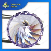 loose round cut fancy cut artificial cubic zirconia